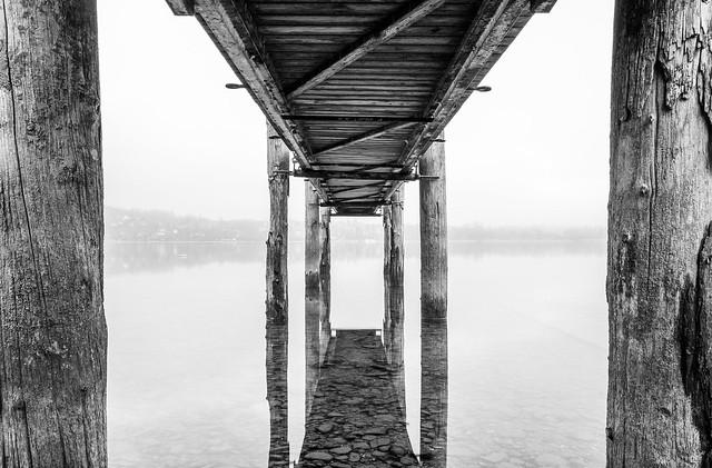 under the pier... II