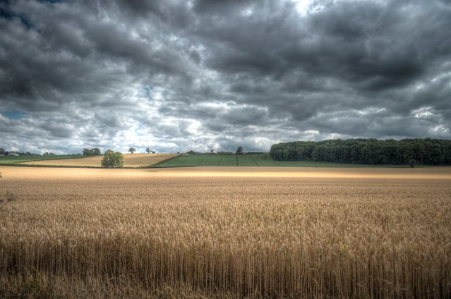 Angry Shropshire sky !