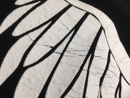 Cracking and Decaying Print | by doves.clothing