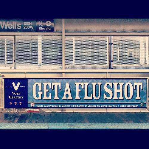 Get a Flu Shot   by Raed Mansour