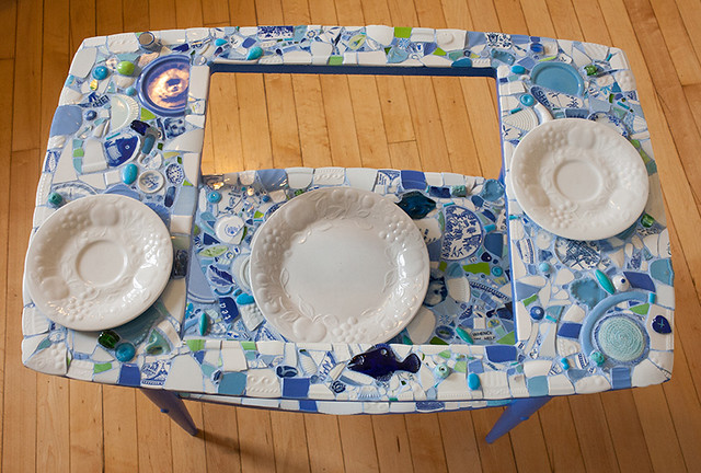 mosaic table overall