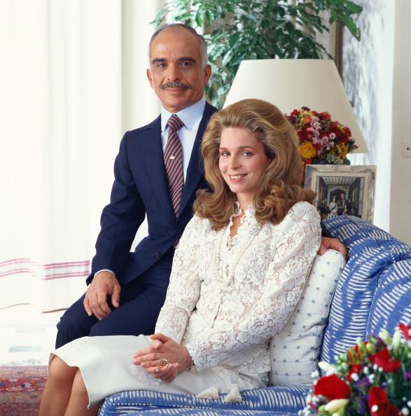Queen Noor And King Hussein