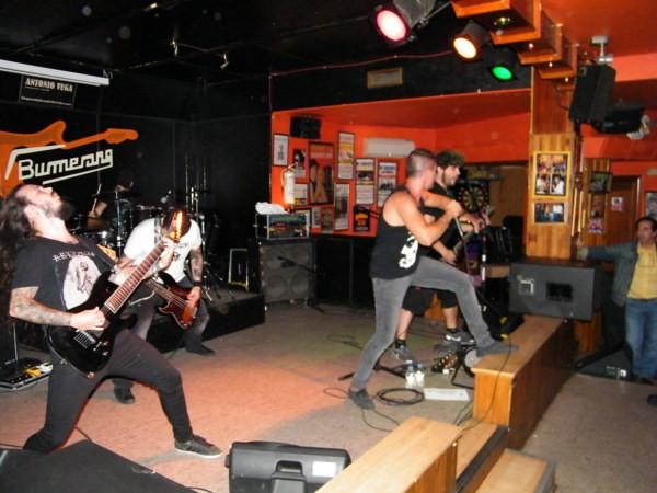 Violent Eve + Overdown + Corpore, Guadalajara 20/09/13