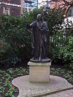John Wesley Statue | by Loz Flowers