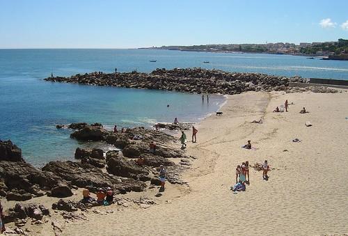Foz da Ribeira de Barcarena e praia de Caxias | by Portuguese_eyes