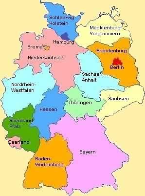 Deutschlandkarte Georg Mayer Flickr
