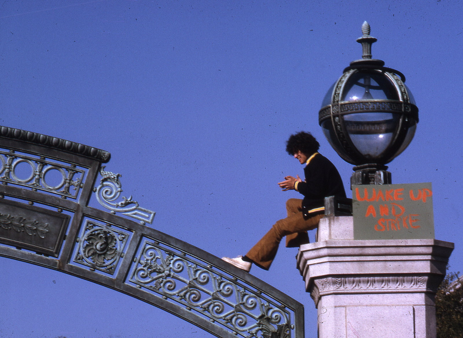 Sather Gate, February 1969 - from Snap Man's flickr, licensed under CC.