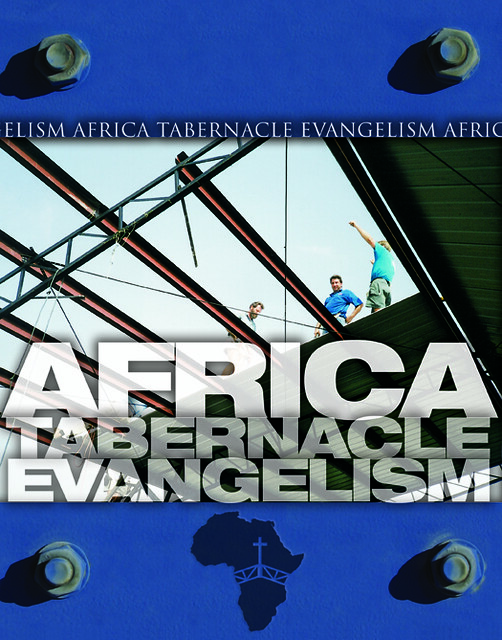 Africa Tabernacle Evangelism Poster | Light The Fire