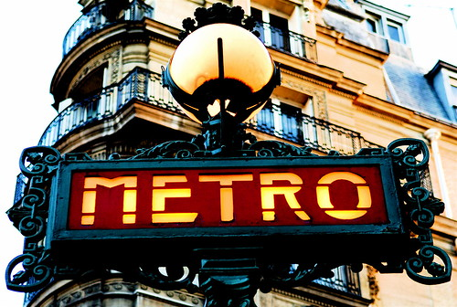 Paris Old Metro Signboard | by pedrosimoes7