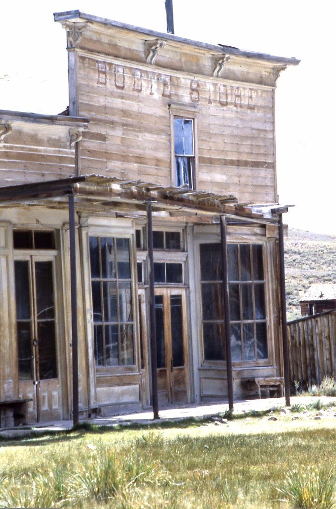 Arrested Decay. Bodie, California