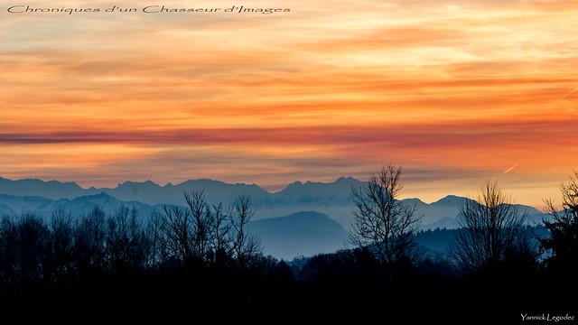 Pyrénées in fire