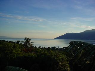 Ilha Bela vista de S. Sebastião