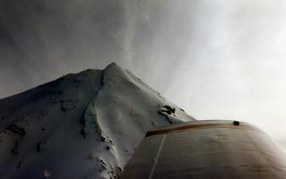 Taranaki fly by, New Zealand, 1993