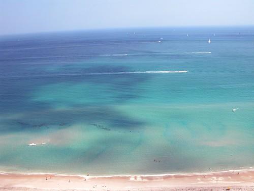 beach clouds florida imran imrantv imrananwar ocean sharks sky
