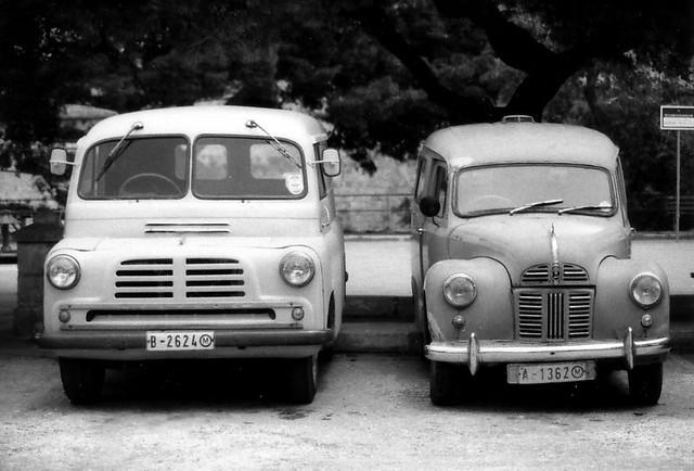 Bedford CA delivery van / Austin A40 Countryman estate