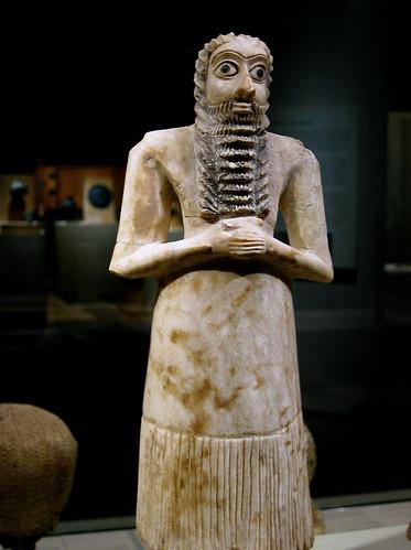 mesopotamia, iraq - sumerian figure | by Xuan Che