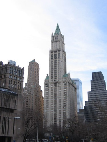 NYC Feb. 2006 - Woolworth building | by OliverN5
