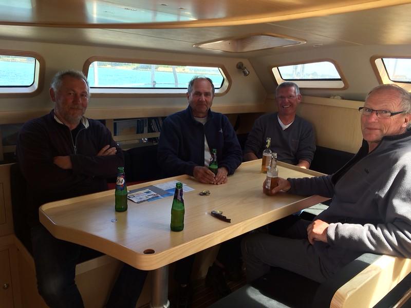Gäste an Bord bei Matthias