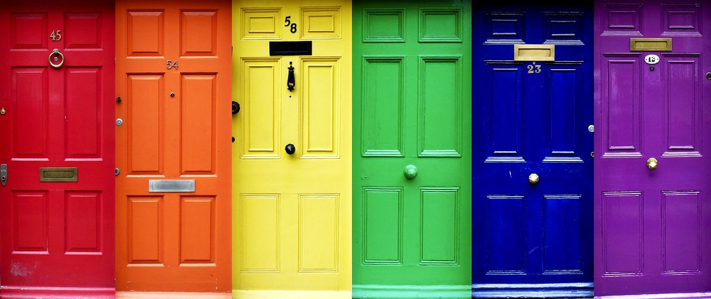 Arcoíris de Puertas I