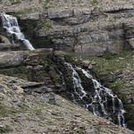 Waterfall below Piegan Pass