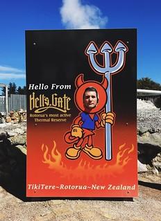 Hells Gate Geothermal Park in Rotorua   by lady3jenn