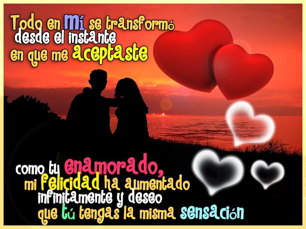 Diseño Con Frase De Enamorados Para Compartir Por Facebook