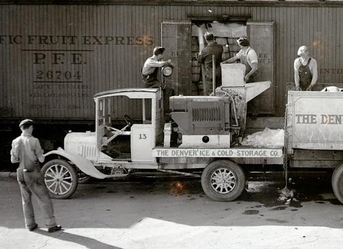 Men Working in the 1950s