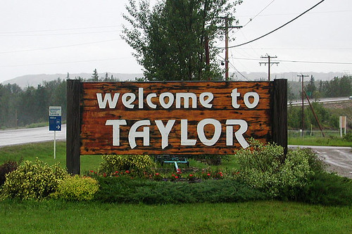 Taylor, Northern British Columbia, Canada