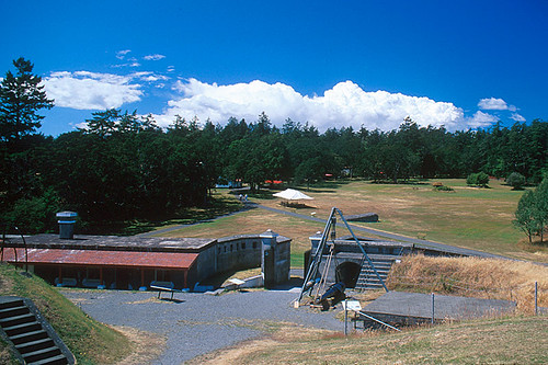 Fort Rodd Hill Historic Site, Colwood, Greater Victoria, Vancouver Island, British Columbia, Canada