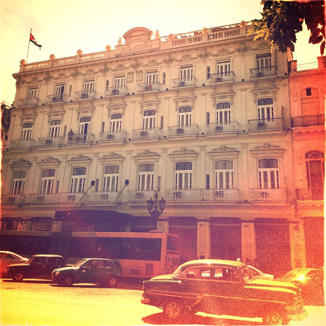 Hotel Inglaterra ..  the oldest hotel in Cuba