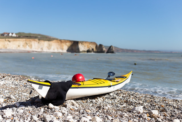 Isle of Wight Kayak at Freshwater Bay - IMG_3171