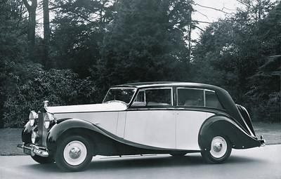 Rolls-Royce post WW II Silver Wraith