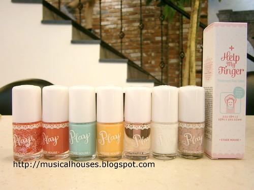 Etude House Nail Polish Manicure | by musicalhouses