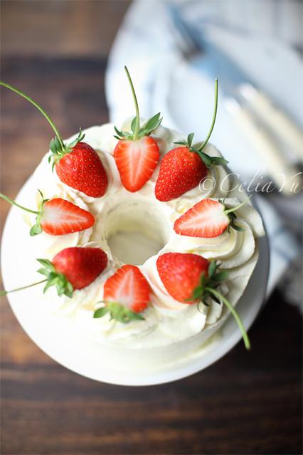 chiffon cream cake