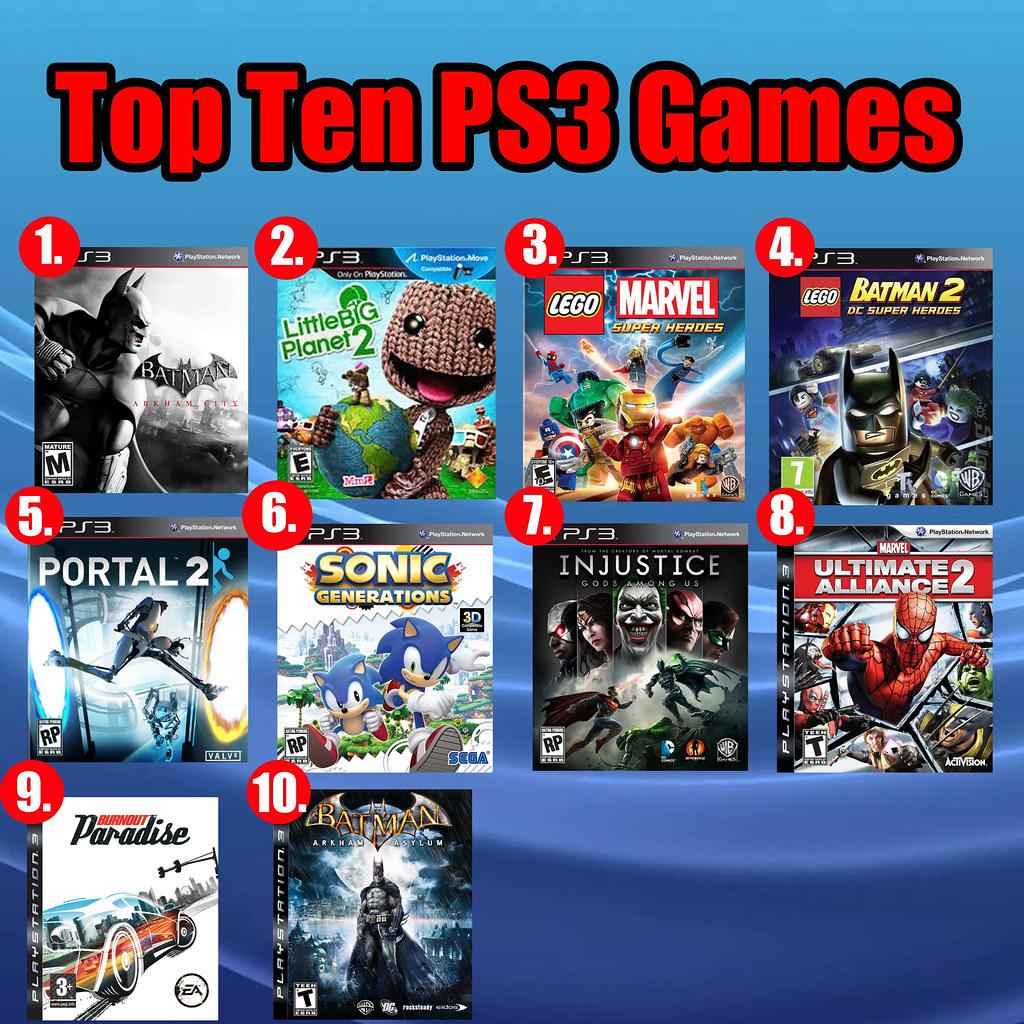Top Ten PS3 Games