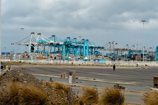 Tanger-Med, a cargo and passenger port located about 40 km east of Tangier | by World Bank Photo Collection