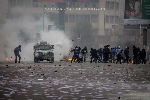 Marcha 26 de junio, Chile 2013   by Mario Téllez C.
