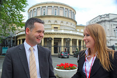 Mairead Farrell and Pearse Doherty