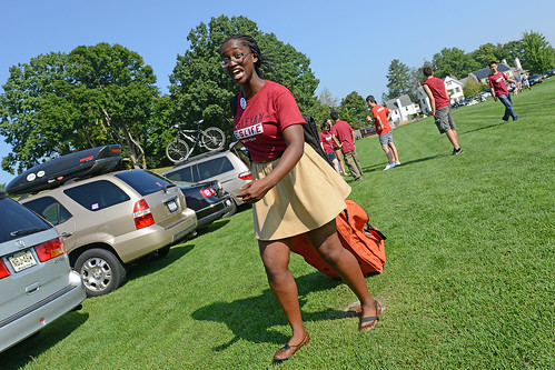 Class of 2017 Arrival Day