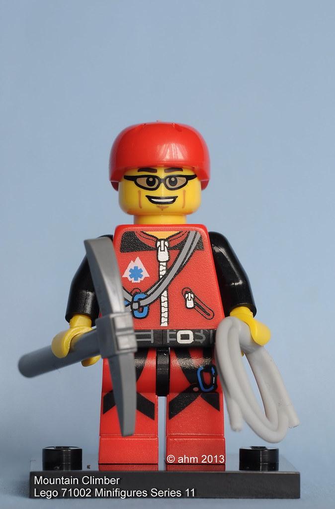 Lego Minifig Mountain Climber Minifigure Series 11.