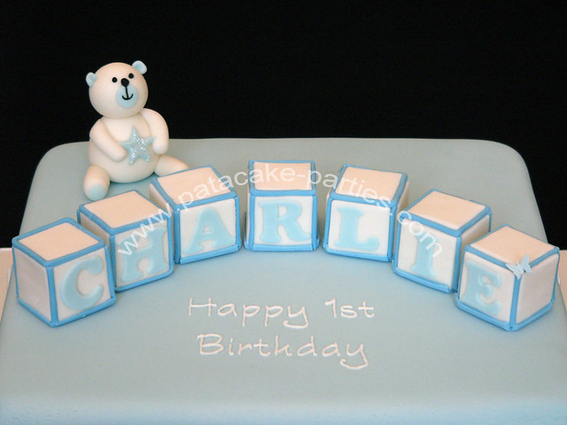 Charlie's 1st birthday cake
