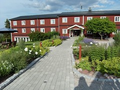 Nya hotelldelen med vacker utsikt mot Siljan eller Plinstbergen