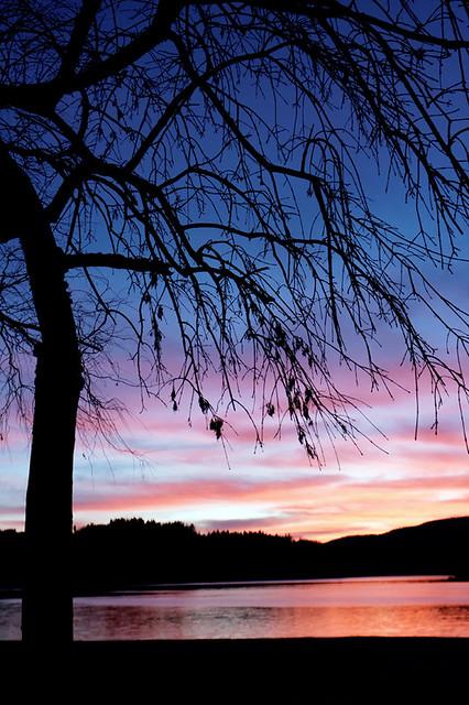 lac de Montagnès-crépuscule-5