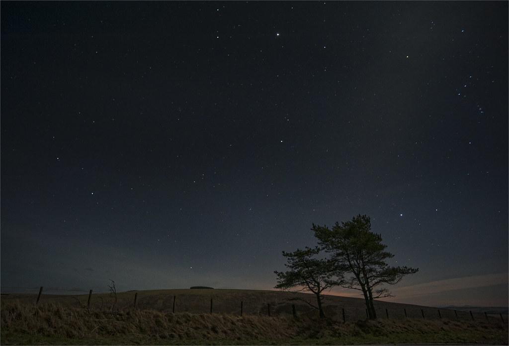 Soutra Hill Night Sky