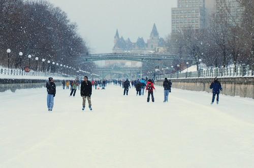 Skating in Ottawa