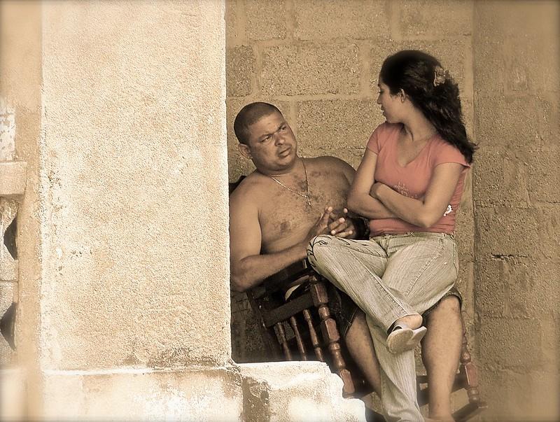 Cuba, Hibara, couple