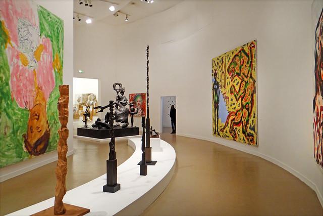 La salle sur la scène artistique allemande (Musée d'art moderne de la ville de Paris)
