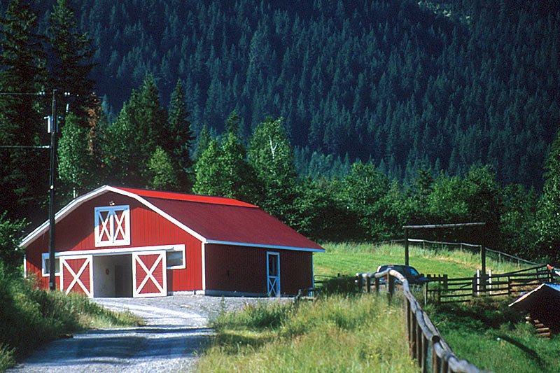 Lumby, North Okanagan Valley, British Columbia, Canada