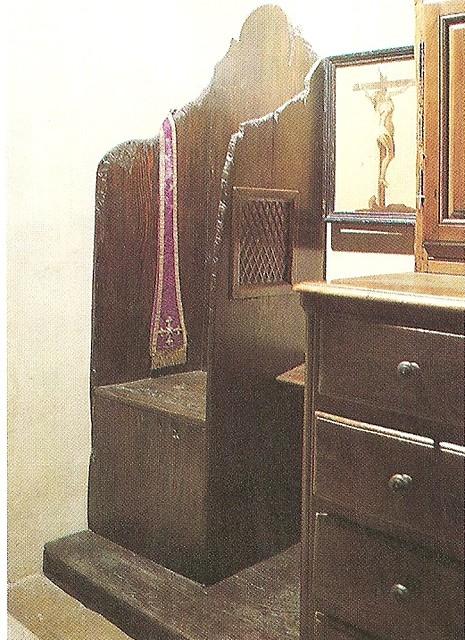 sacristy confessional for men