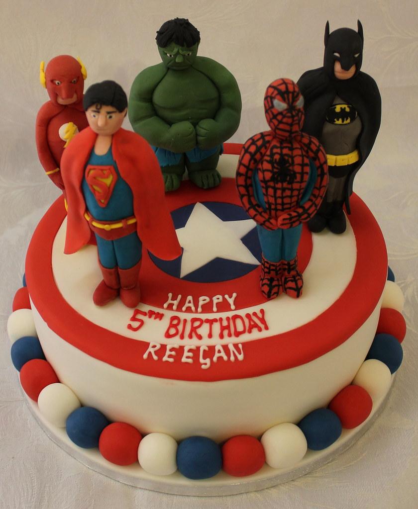 Amazing Comicbook Superhero Birthday Cake Pauls Creative Cakes Funny Birthday Cards Online Elaedamsfinfo